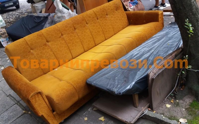 Фирма за изхвърляне на мебелеи
